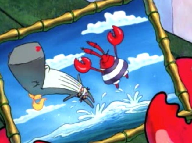 Mr krabs and pearl never too old for spongebob pinterest mr krabs mr krabs publicscrutiny Images