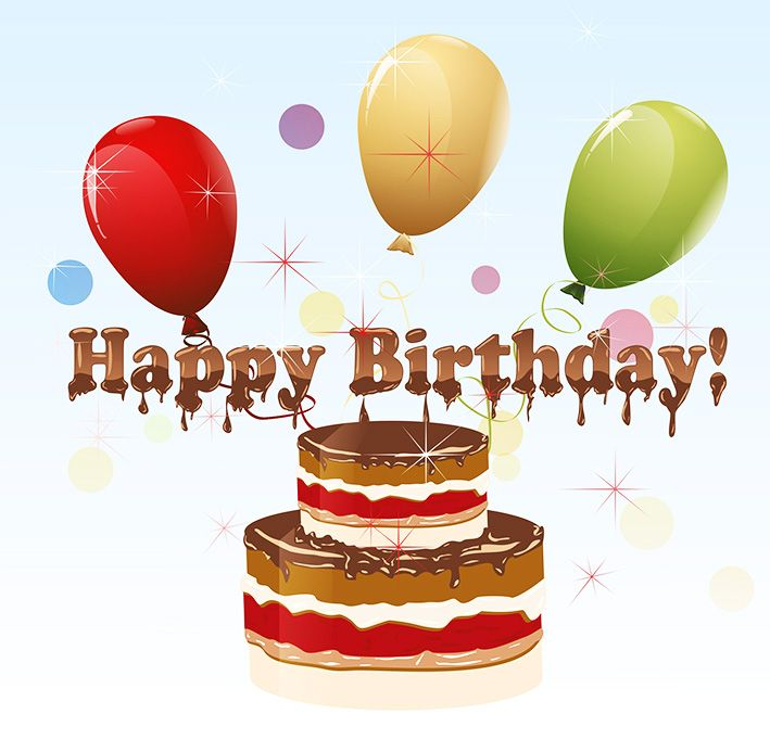Clip art of happy birthday cake Crafts Cards Pinterest Clip