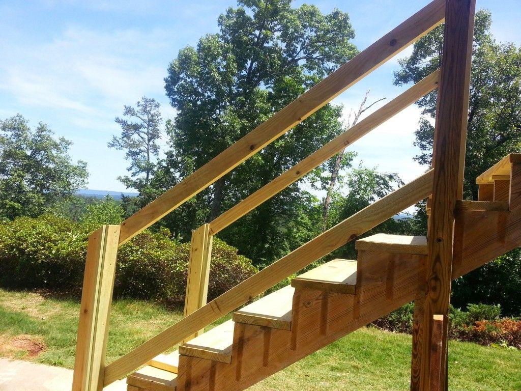 Repair Deck Railing and Stairs   Deck railings, Stairs, Deck