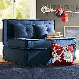 Cushy Sleeper Sofa For The Playroom