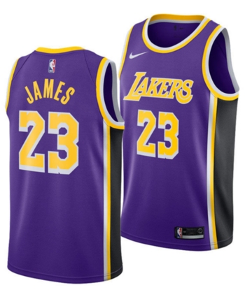 huge discount 31b09 2175b Nike Men's LeBron James Los Angeles Lakers Statement ...