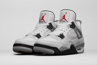 "The Air Jordan 4 Retro ""Cement"" Is Dropping Next Year 