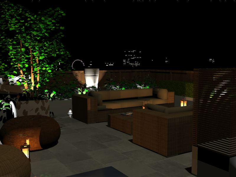 bowles and wyer night render shaderlight image garden sketches