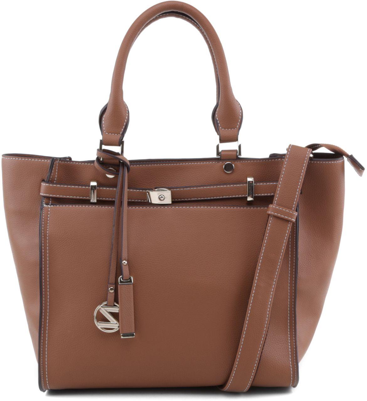 Bolsa De Mão Arezzo : Bolsa tiracolo classic marrom arezzo bolsas