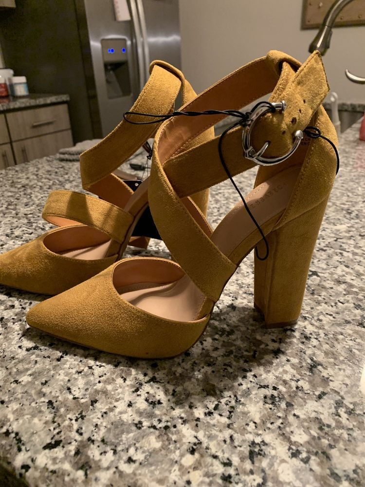 eee2232586 Brand NEW Forever 21 Heels {Mustard Yellow} #fashion #clothing #shoes # accessories #womensshoes #heels (ebay link)