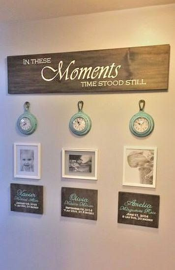 Photo of Items similar to In These Moments Time Stood Still – Family Tree – Valentines Day Gift – Family Birthday Board – Family Birthday Sign – Family Wood Sign on Etsy