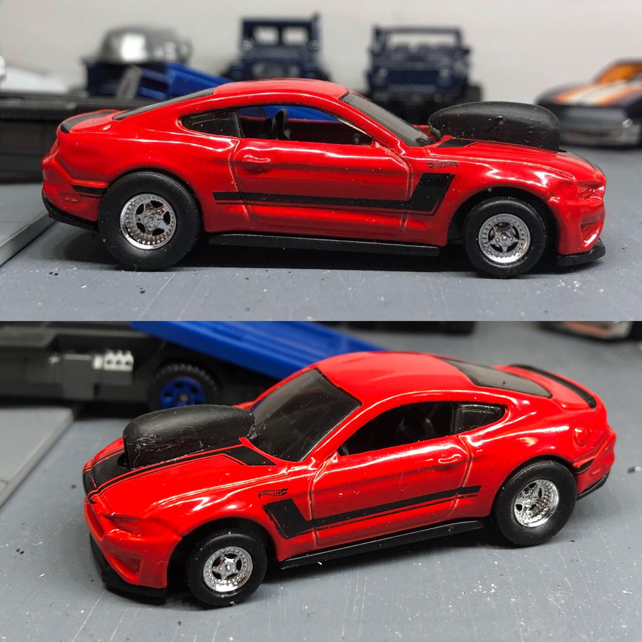 Custom Hotwheels Drag Mustang Hot Wheels Custom Hot Wheels