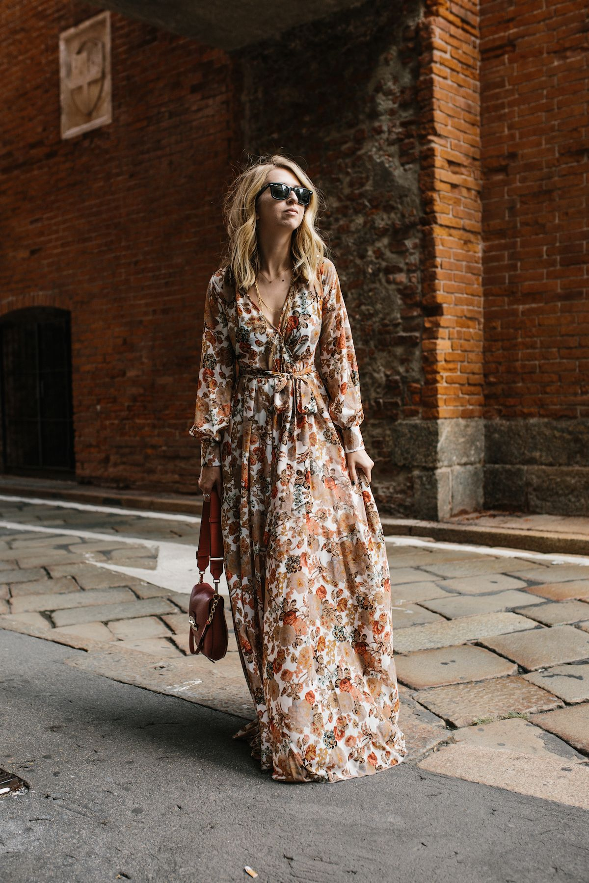Milan Italy Maxi Dress Fashion Boho Fashion [ 1800 x 1200 Pixel ]