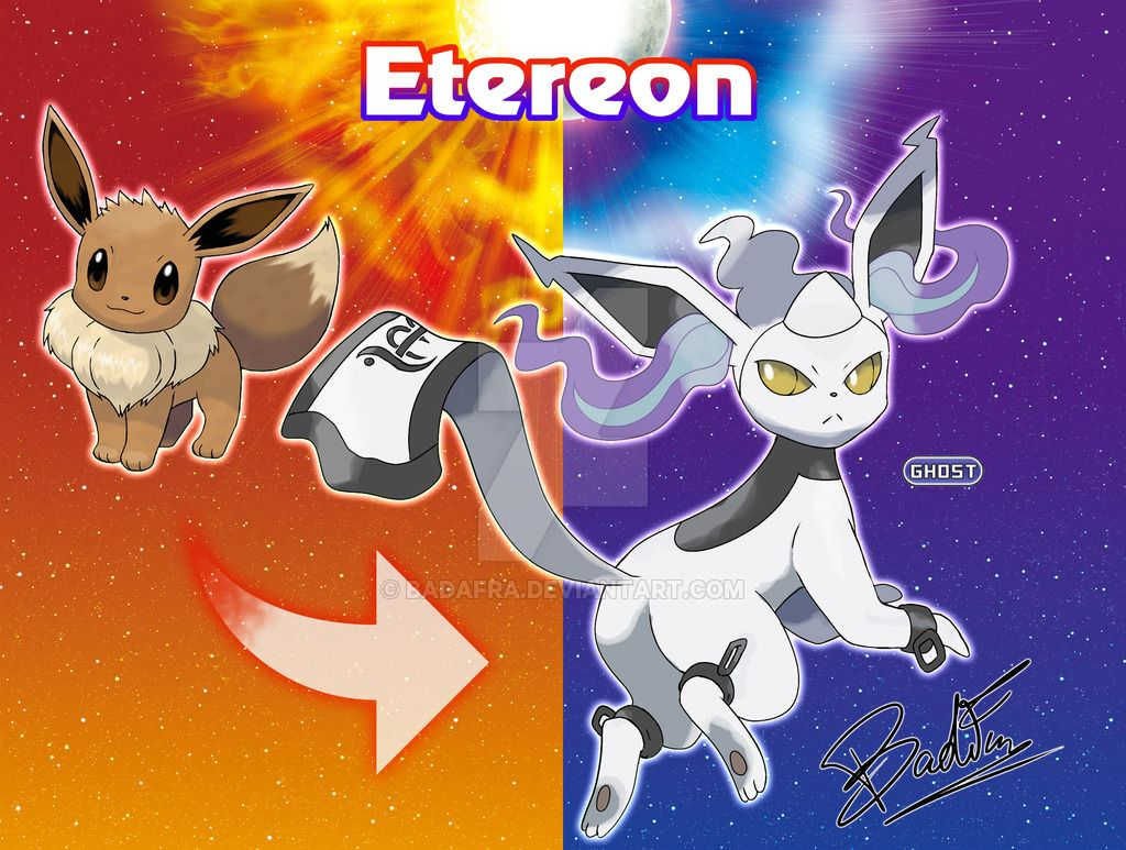 Eevee evolution: Etereon by badafra on DeviantArt ...