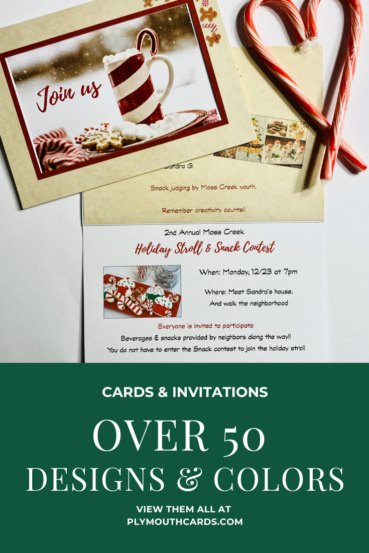 perfect for invitations christmas cards and so much more