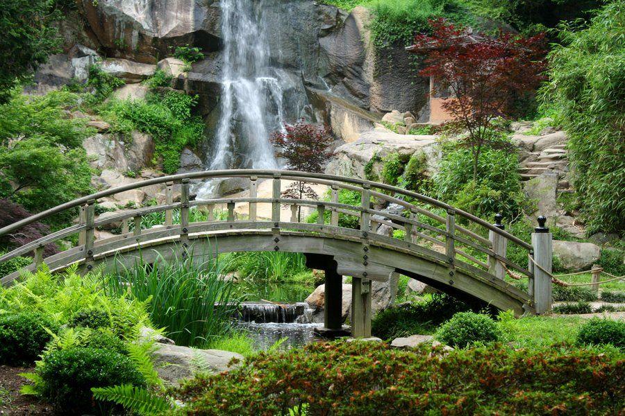 Japanese Garden Maymont Japanese Garden Maymont Garden Waterfall