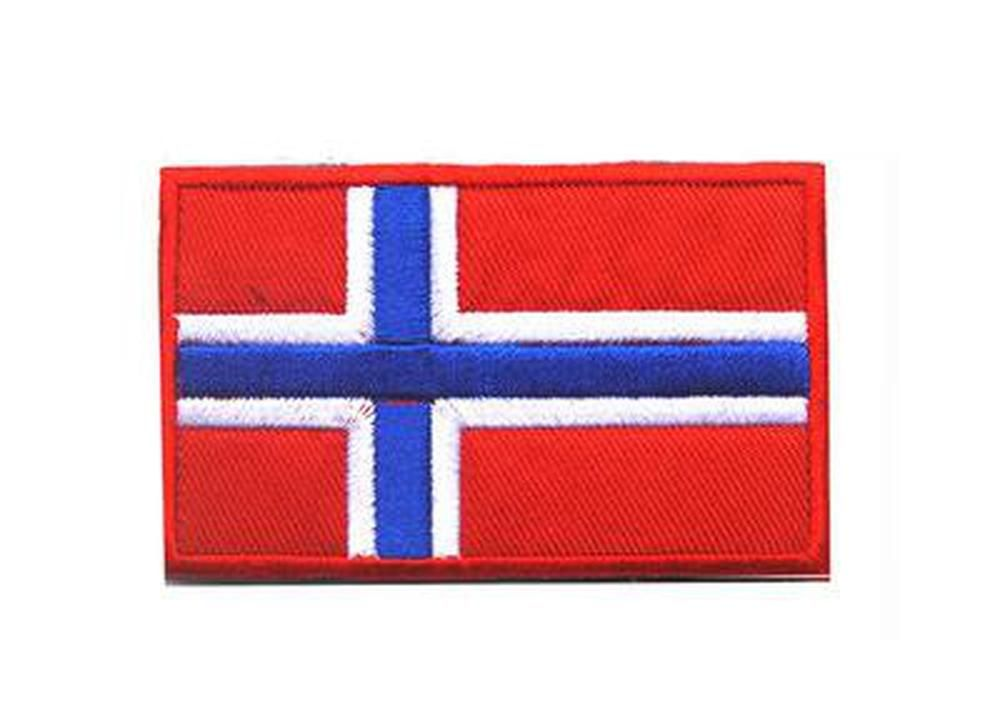 Name Patch with flag of Nowary Embroidered PATCH//BADGE