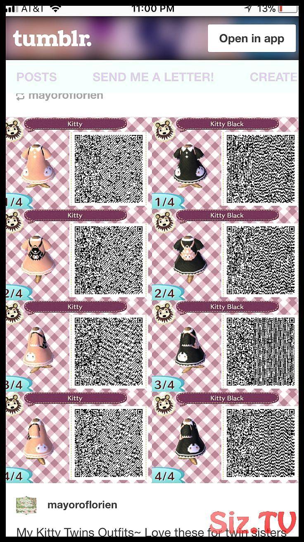 Animal Crossing QR Codes Animal Crossing QR Codes in