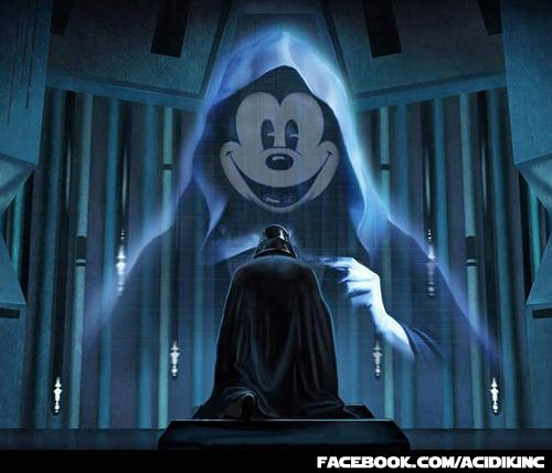 Dark Lord Mickey Mouse | Star wars pictures, Star wars humor, Star ...