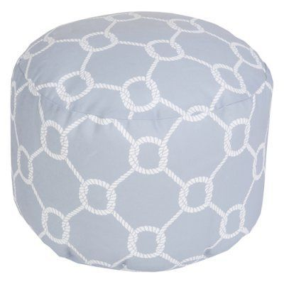 Surya 20 X 20 In Outdoor Rope Round Pouf Outdoor Pouf Pouf Ottoman
