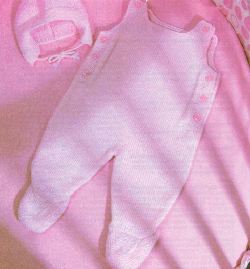 Вязание на спицах ползунки