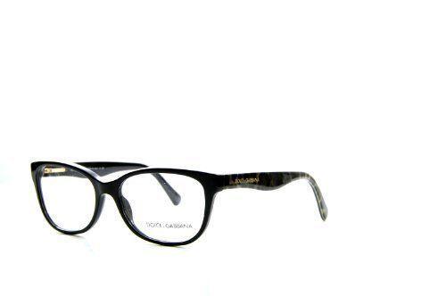 36c08cbef10d New Dolce D DG 3136 2525 Black Brown Leopard Frame Plastic Eyeglasses Dolce    Gabbana.  140.00