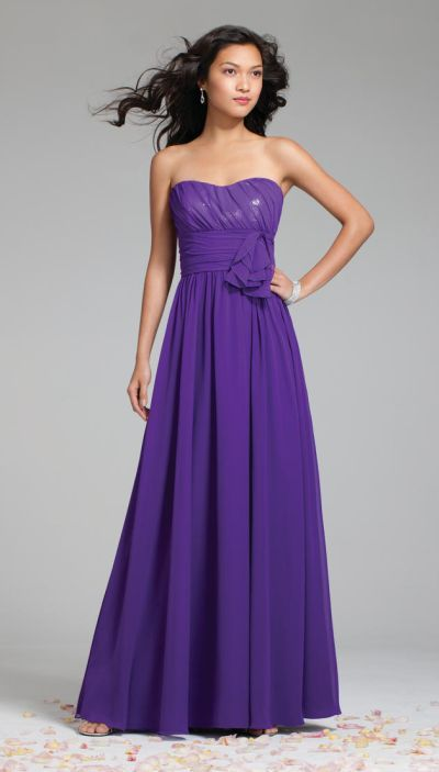 39cdce838de Alfred Angelo 7242 Chiffon Sequin Bridesmaid Gown in 2019 ...