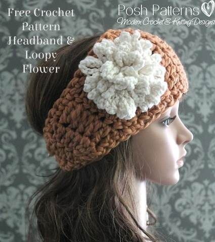 Free Crochet Headband Pattern Free Crochet Crochet And Cozy