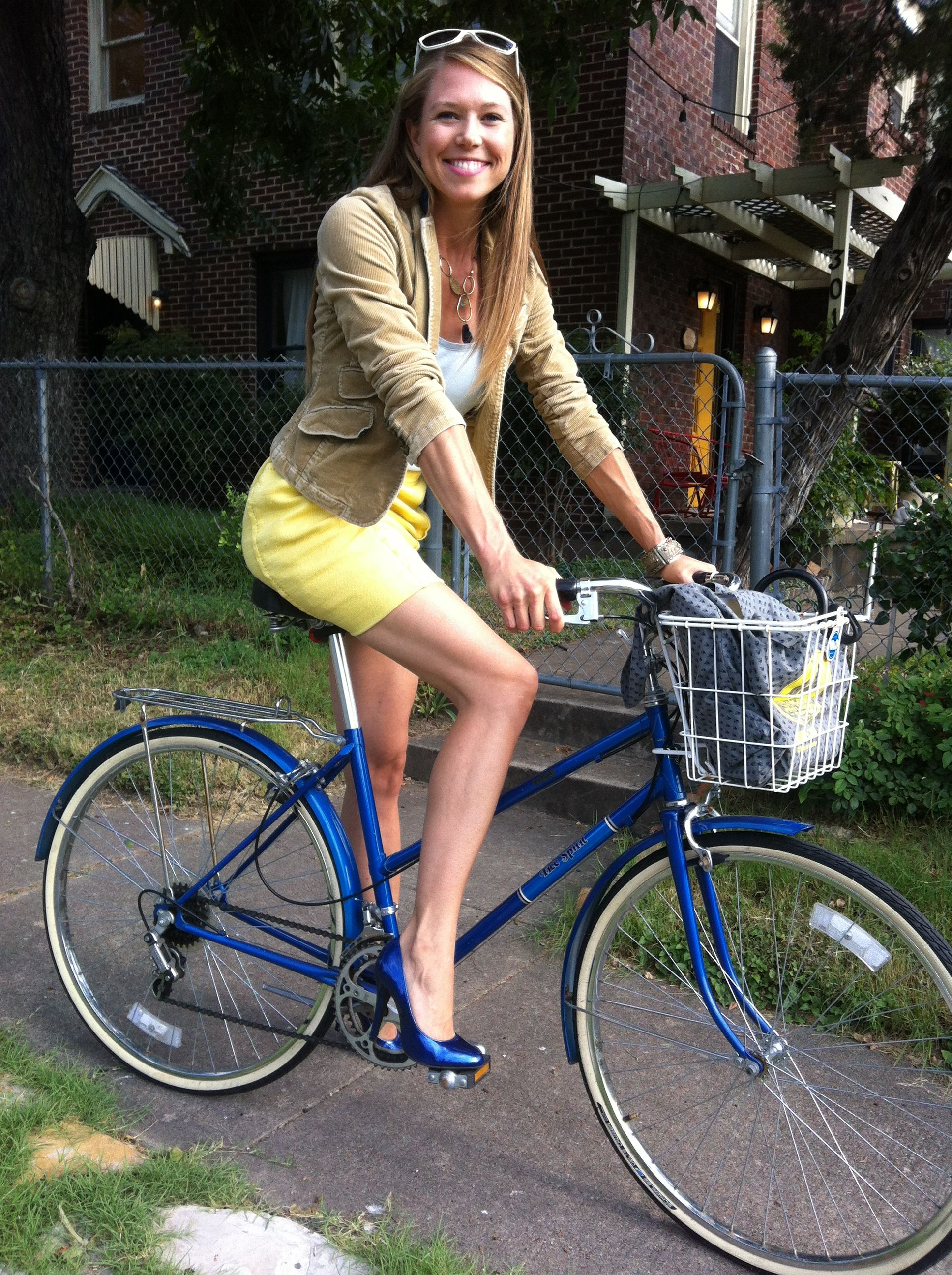 Tips For Summer Bicycle Commuting Bicycle Girl Commuter Bicycle