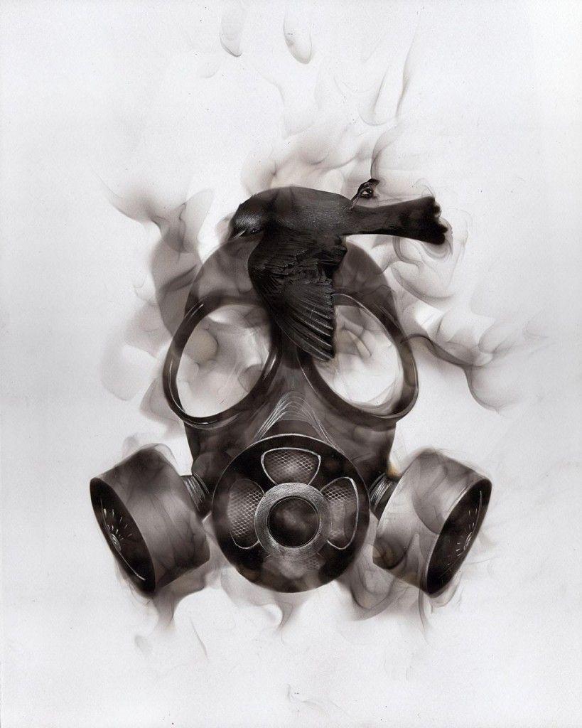steven spazuk in 2019 inspiration gas mask art art