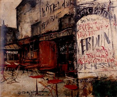 佐伯 祐三(さえき ゆうぞう、1898年4月28日 - 1928年8月16日)は、大正~昭和初期の洋画家