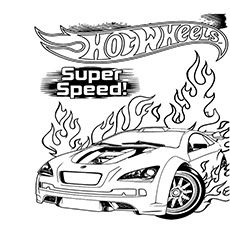 Top 25 Free Printable Hot Wheels Coloring Pages Online | Wheels ...