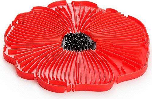 Charles Viancin Poppy Trivet 2920 Red Poppies Charles