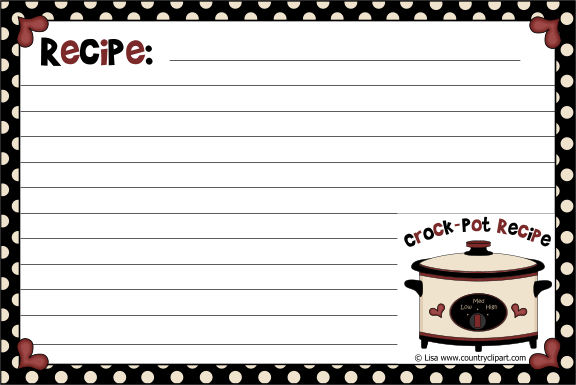 with scripture Pots//Dots Recipe Cards