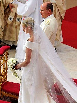 Prince Albert And Princess Charlene Of Monaco Konigliche Hochzeit Hochzeit Monaco