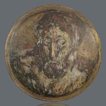 """""""TETÉ DE CHRIST"""" POR GEORGES ROUAULT.(1871-1958)."""