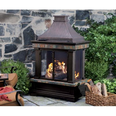 Backyard Fireplace at BJ's $299 | For the Home | Pinterest ...