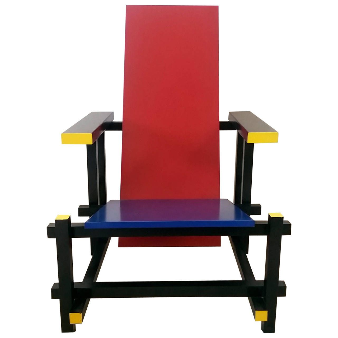 Gerrit rietveld chair for sale - View This Item And Discover Similar Lounge Chairs For Sale At A Gorgeous Red Blue Chair Designed After Gerrit Rietveld This Chair Bears No Manufacturer