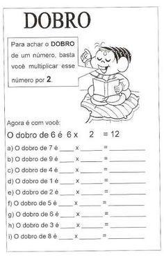 Resultado De Imagem Para Problemas De Matematica 3 Ano Dobro E
