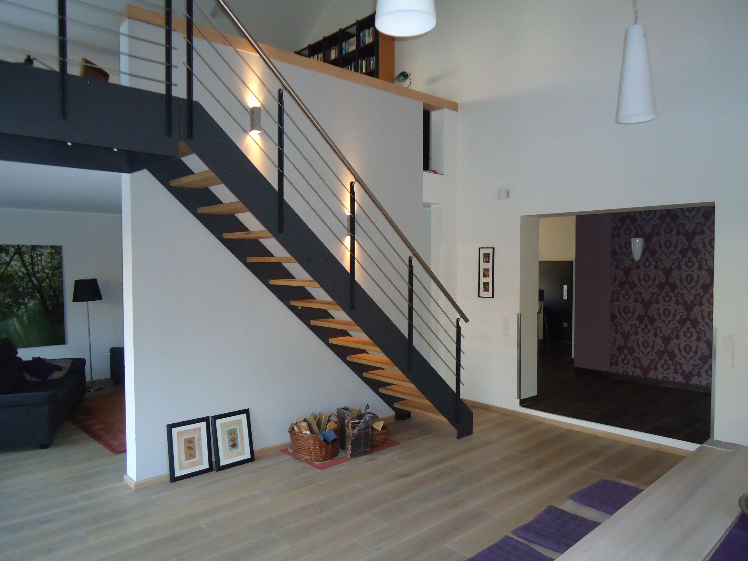 Treppen architektur design  LOFT in Eiche rustikal direkt vom Hersteller Unnerstall Treppen ...