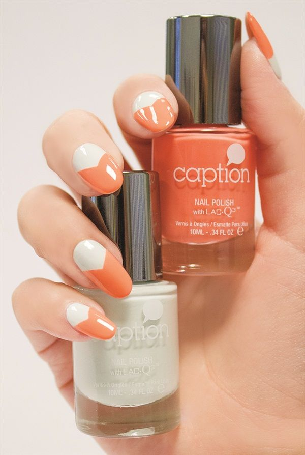 Caption Nail Art for Summer | Captions, Style nails and Nails magazine