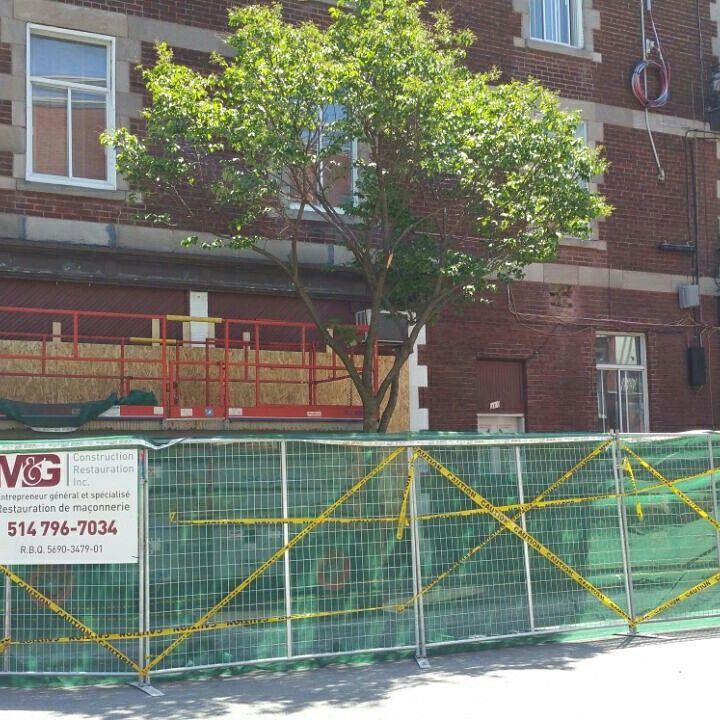 Sécurité en premier clôture de chantier / Safety first