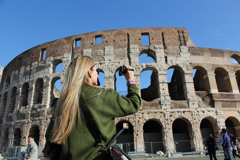 Trench Collection by Sonia Verardo: My travel diary: Colosseo, Roma!