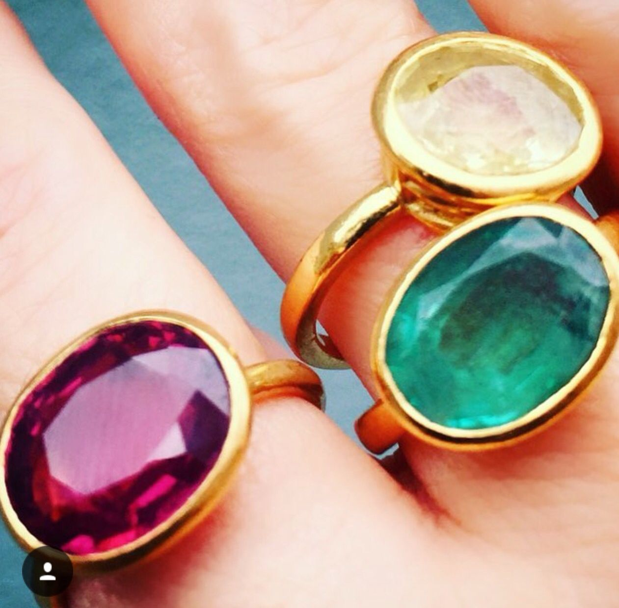 buy sale separation shoes cost charm Lisa Eldridge wearing rings by William Welstead | Women's jewelry ...