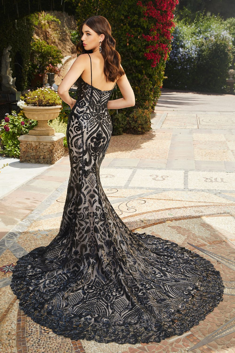 Looking for a black wedding dress? Style 2396 Keaton by