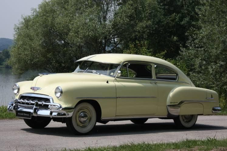 1952 Chevrolet Fleetline Car Chevrolet Classic Cars Chevrolet