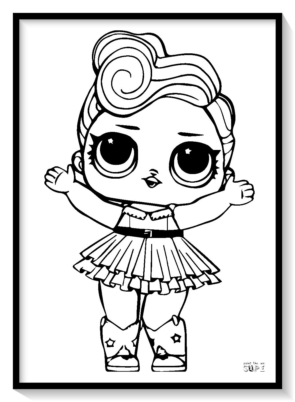 Munecas Lol Para Colorear Online Dibujar Y Pintar