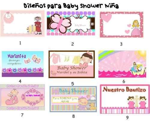 Kit baby shower imprimir - Imagui