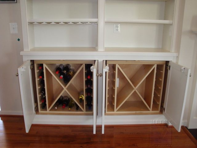 Built In Cabinet Wine Rack Inserts