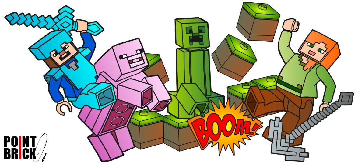 Disegni Da Colorare Lego Minecraft Steve E Alex Disegni Da Colorare Lego Disegni Da Colorare Lego Minecraft