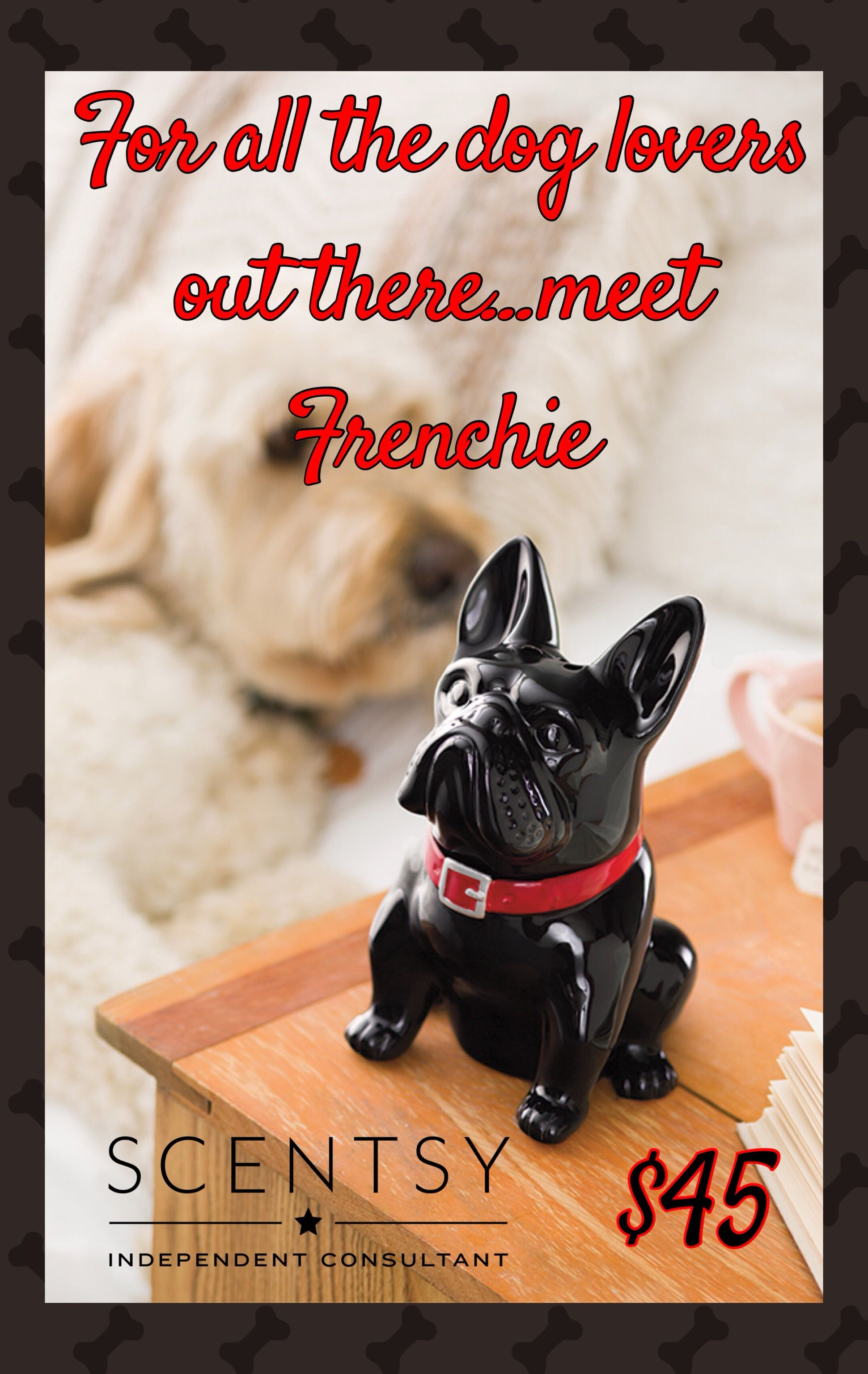 Frenchie Scentsy Warmer 2018 Fall Winter Scentsy Catalog Scentsy
