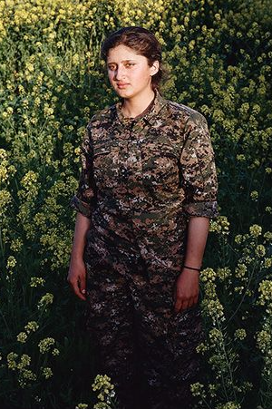 Sonja Hamad is currently developing a new body of work which looks at the Kurdish women fighters of YPJ and PKK. Through a powerful photo series of individual women, Hamad captures the conflicting elements of strength, determination and vulnerability.
