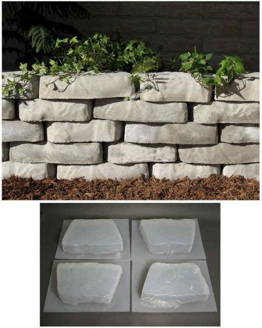 Retaining Wall Block Concrete Molds Diy Projects