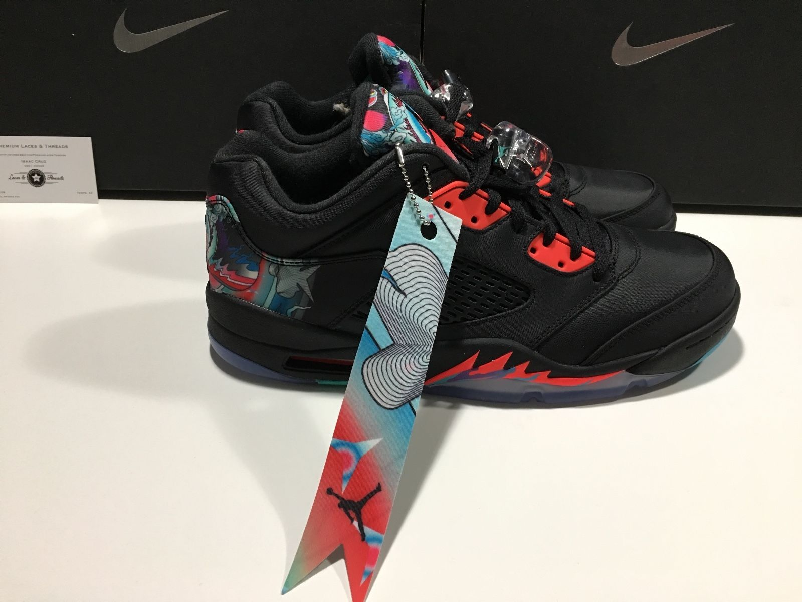 Nike Air Jordan 5 Retro Low CNY 'Chinese New Year' 840475-060 Size