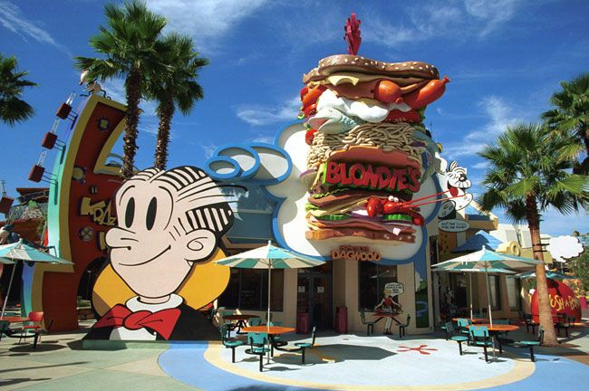 Toon Lagoon Dining Options at Islands of Adventure